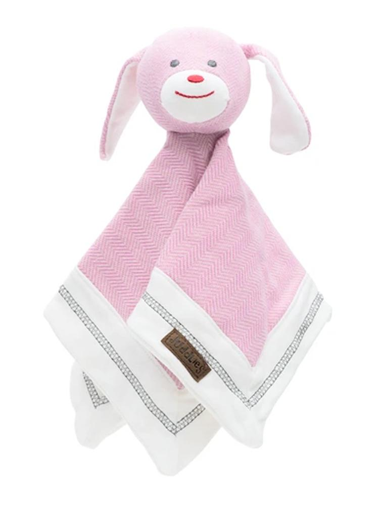 Juddlies - Organic Sunset Pink Lovey Rabbit - Stylemykid.com