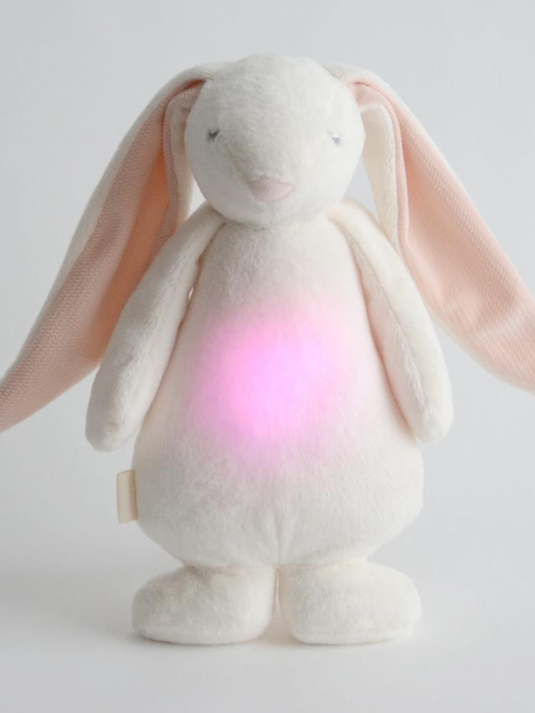 Moonie Humming Friend Baby Night Light & Sleep Aid - Powder - Stylemykid.com