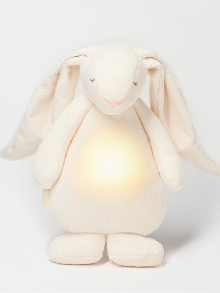Moonie Humming Friend Baby Night Light & Sleep Aid - Cream - Stylemykid.com
