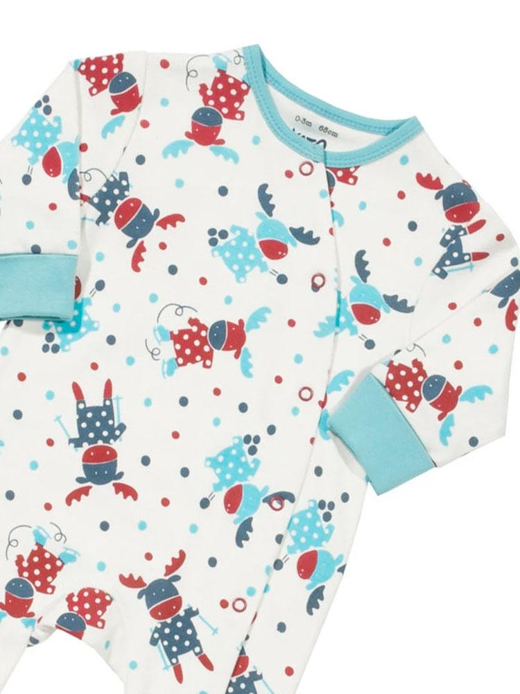 Mr Moose Organic Cotton KITE Sleepsuit - Stylemykid.com