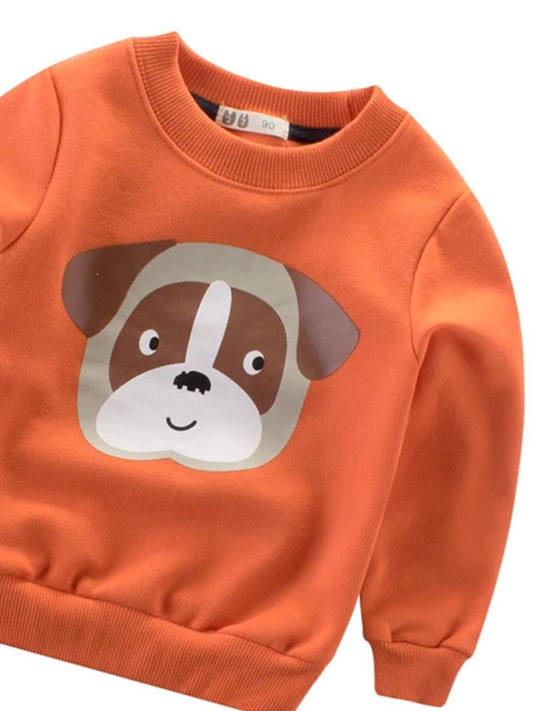 Mr Pug Dog Sweatshirt Jumper - Stylemykid.com