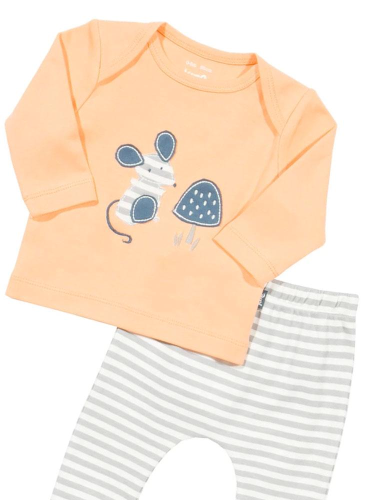 My Little Mouse Set - KITE Organic Baby Outfit - Stylemykid.com
