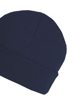 Navy Blue Beanie Baby Hat  - Everyday Collection - Stylemykid.com