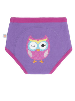 Zoocchini - 100% Organic Cotton Girls Potty Training Pants (single pack) - Olive the Owl - Stylemykid.com