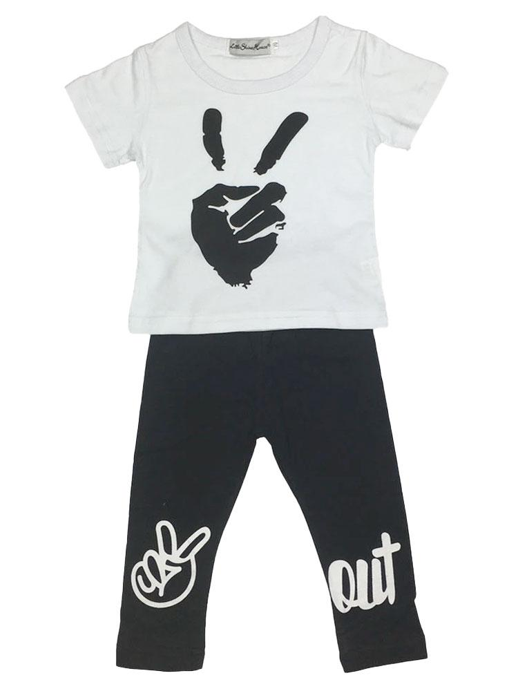 Peace Out Boys Tracksuit - Stylemykid.com
