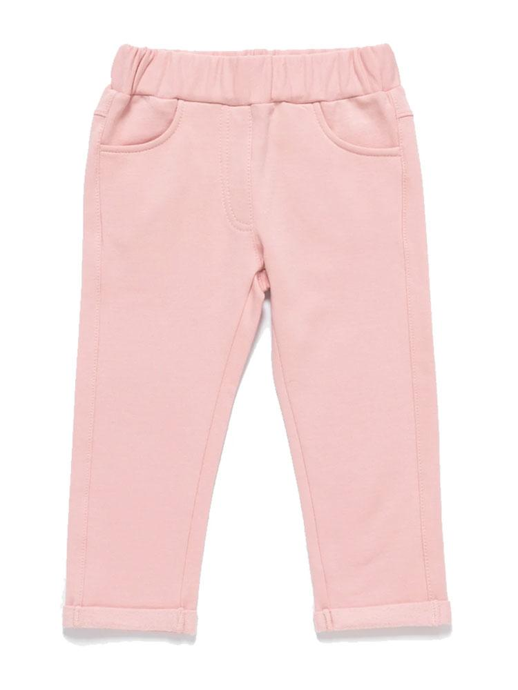 Artie - Perfect Pink Girls Leggings - Stylemykid.com