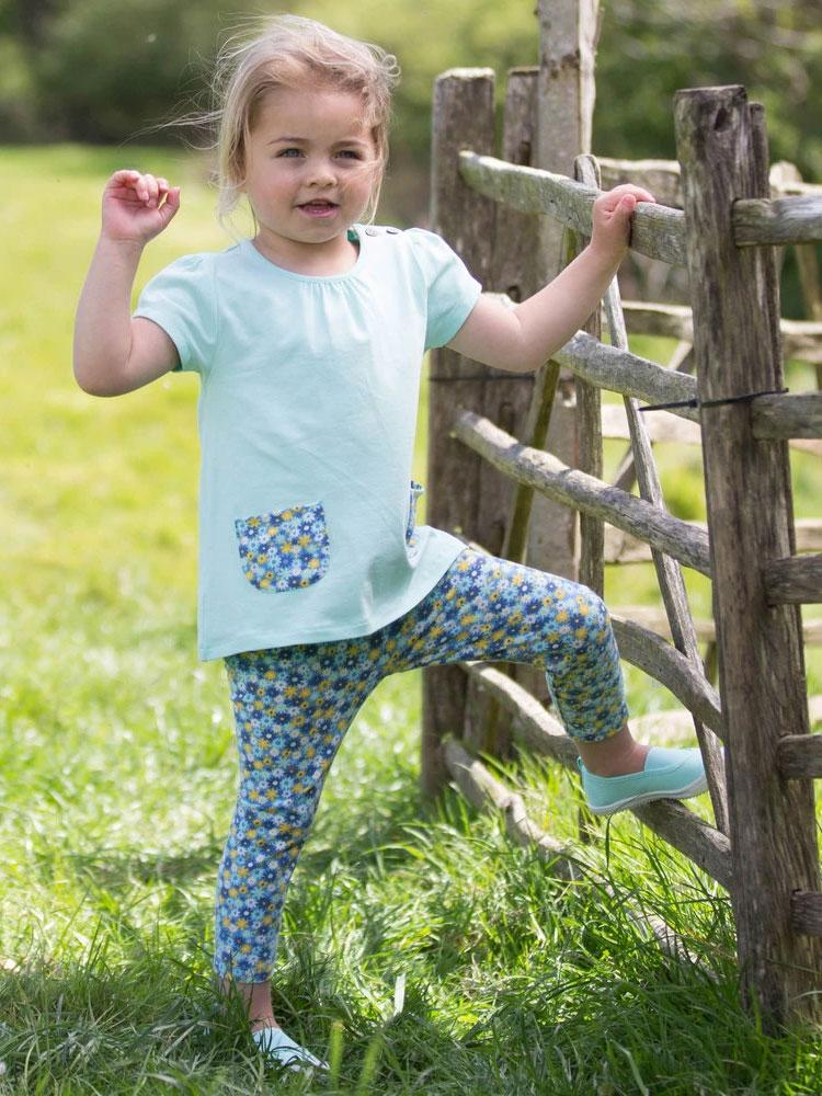 Petal Pocket Tunic and Leggings Set - Organic - from KITE - Stylemykid.com