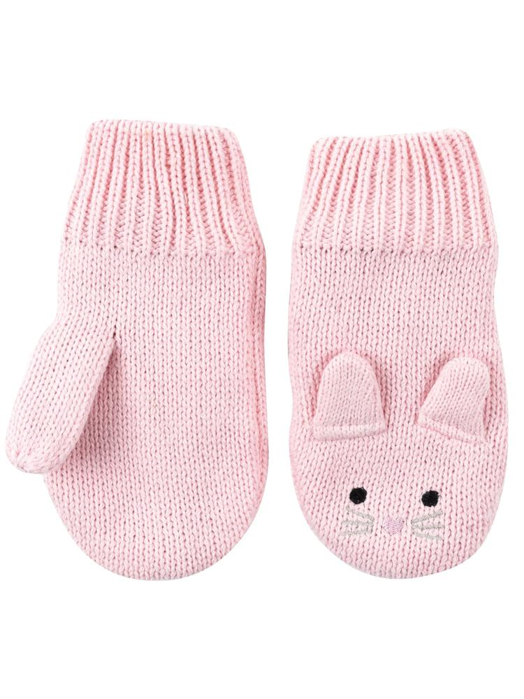 Zoocchini -  Kids Knit Mittens - Beatrice The Bunny - 1-2Y - Stylemykid.com
