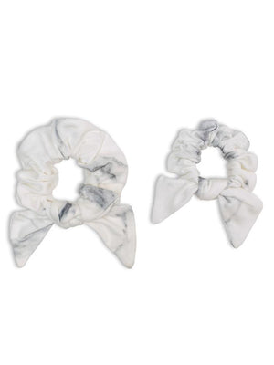 Lulujo - Bamboo Mommy & Me Scrunchies - Marble - Stylemykid.com