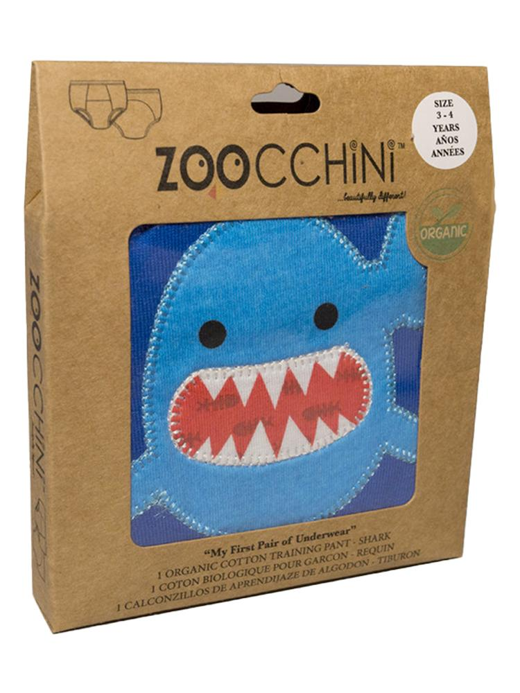 Zoocchini - 100% Organic Cotton Boys Potty Training Pants (single pack) - Sherman the Shark - Stylemykid.com