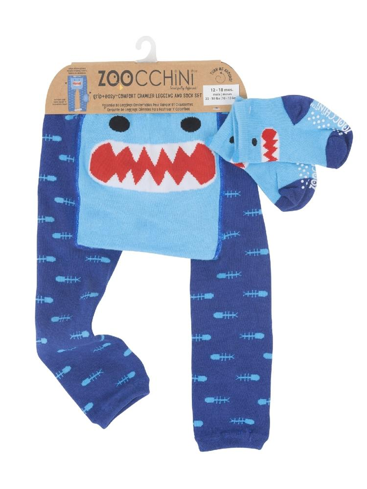 Sherman the Shark Leggings & Socks Set - Stylemykid.com