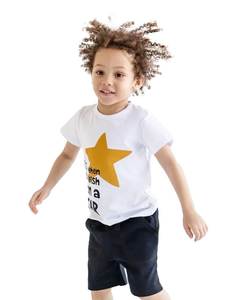Artie - Black French Terry Shorts - Baby and Little Kids - Stylemykid.com