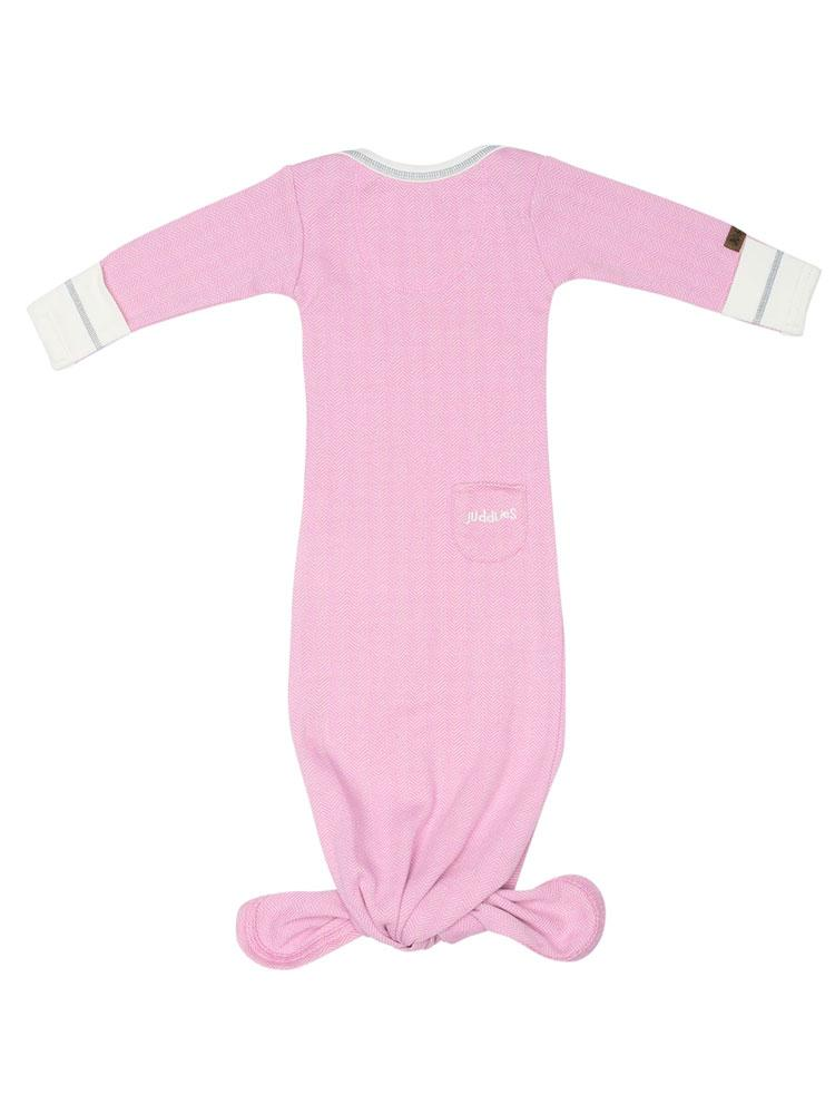 Juddlies - Organic Sunset Pink Fishtail Nightgown - Stylemykid.com