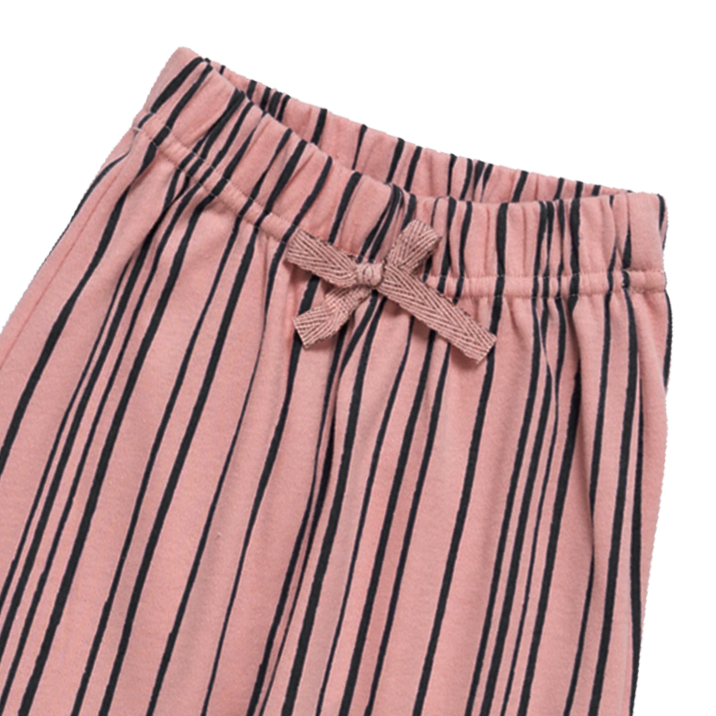 Artie - Super Stripey Pink & Navy Baby Trousers - Stylemykid.com