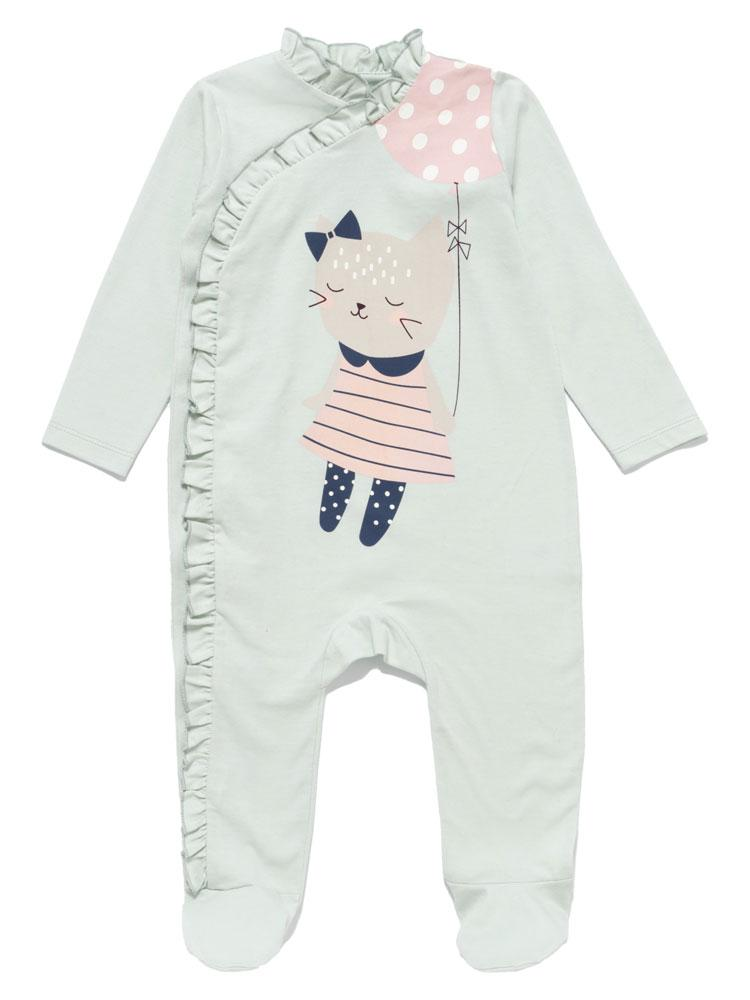 Sweet Dreams Cat Baby Onesie - Stylemykid.com