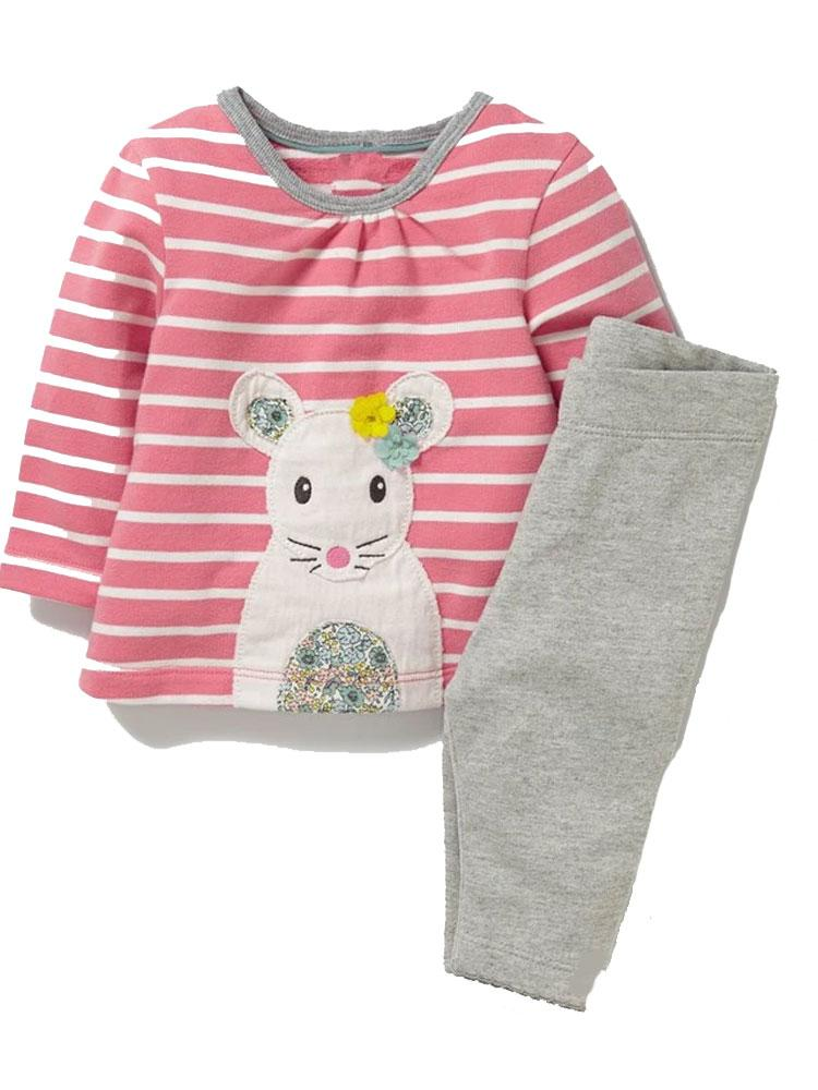 Sweetest Little Mouse Jumper and Leggings Outfit - Stylemykid.com