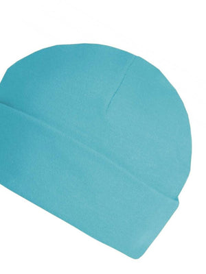 Turquoise Blue Beanie Baby Hat  - Everyday Collection - Stylemykid.com