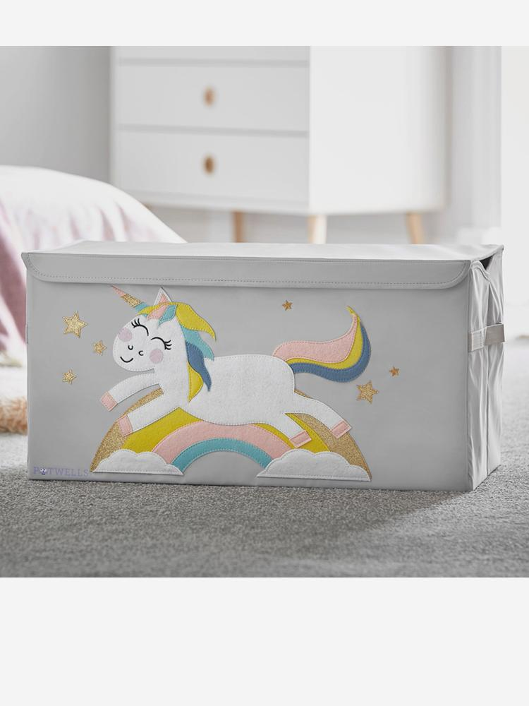 Potwells - Unicorn Storage Chest - Stylemykid.com