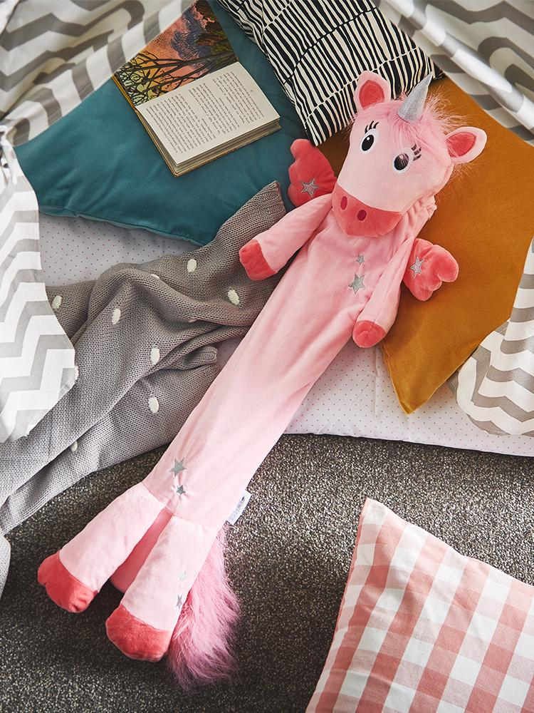 Potwells - Unicorn Luxury Long Hot Water Bottle - Stylemykid.com