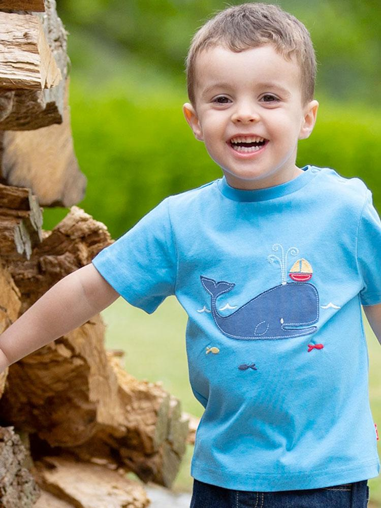 KITE Organic Whale of a Time T-Shirt - Stylemykid.com