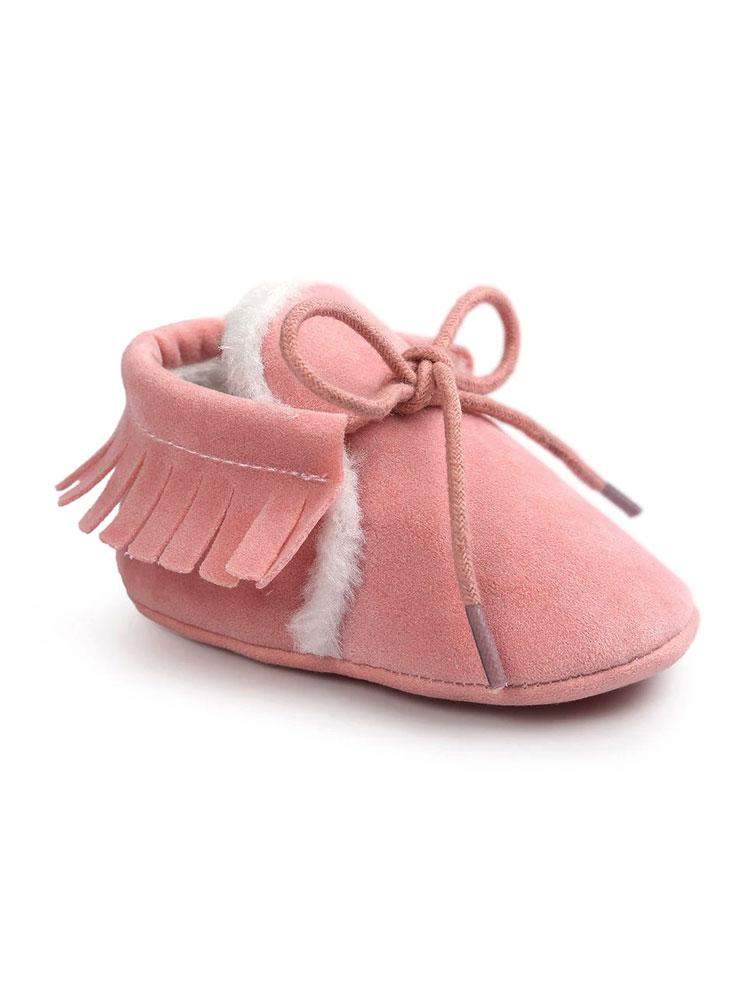 Winter Moccasin Shoe - Pink - Stylemykid.com