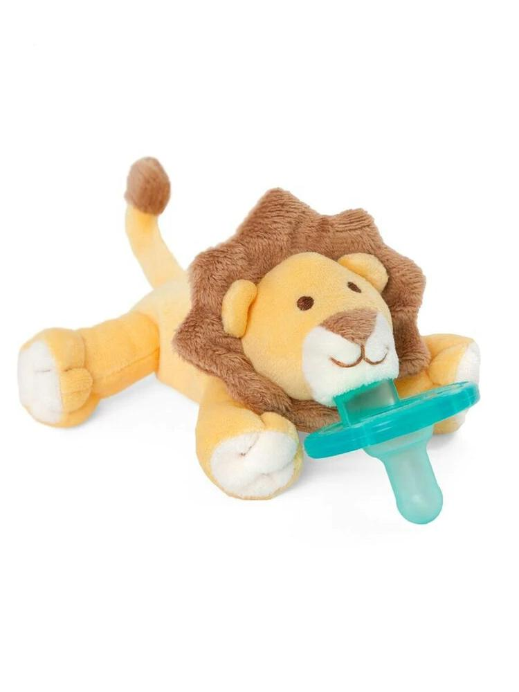 WubbaNub - Baby Lion Dummy Comforter with Toy - Stylemykid.com