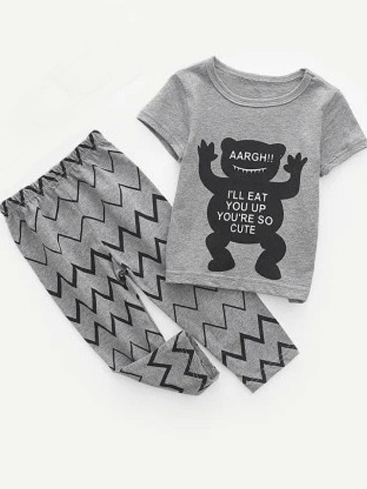 You're so Cute Set - T-Shirt & Matching Bottoms Set - Stylemykid.com
