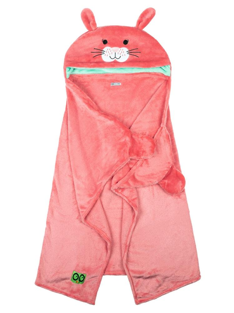 Zoocchini - Kids Wearable Hooded Blanket - Bunny - Age 3+ - Stylemykid.com
