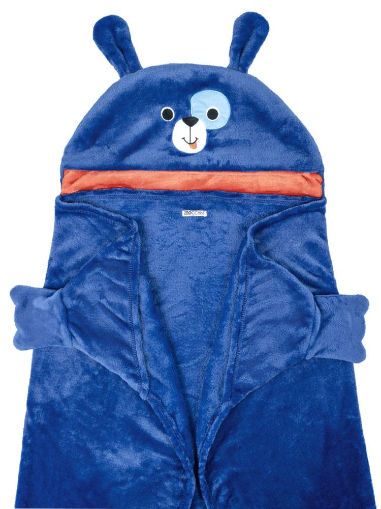 Zoocchini - Kids Wearable Hooded Blanket - Dog - Age 3+ - Stylemykid.com