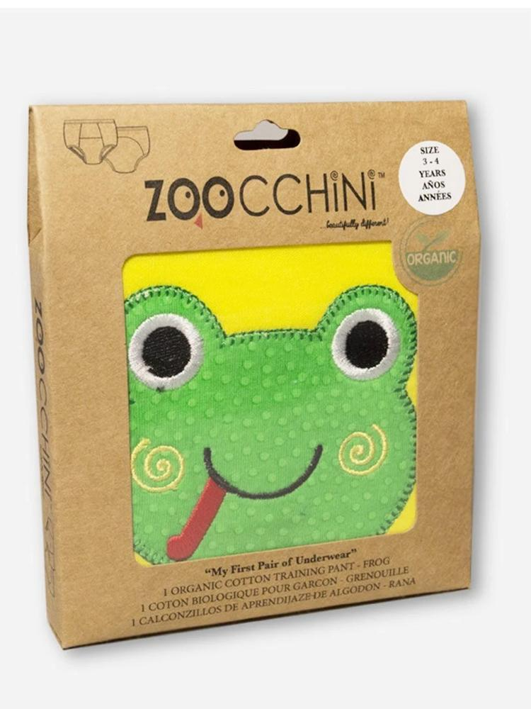 Zoocchini - 100% Organic Cotton Boys & Girls Potty Training Pants (single pack) - Flippy the Frog - Stylemykid.com