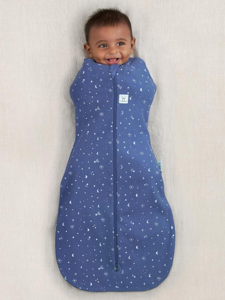 ergoPouch - Night Sky - TOG 1 Cocoon Swaddle Bag - Organic 6 to 12 Months - Stylemykid.com