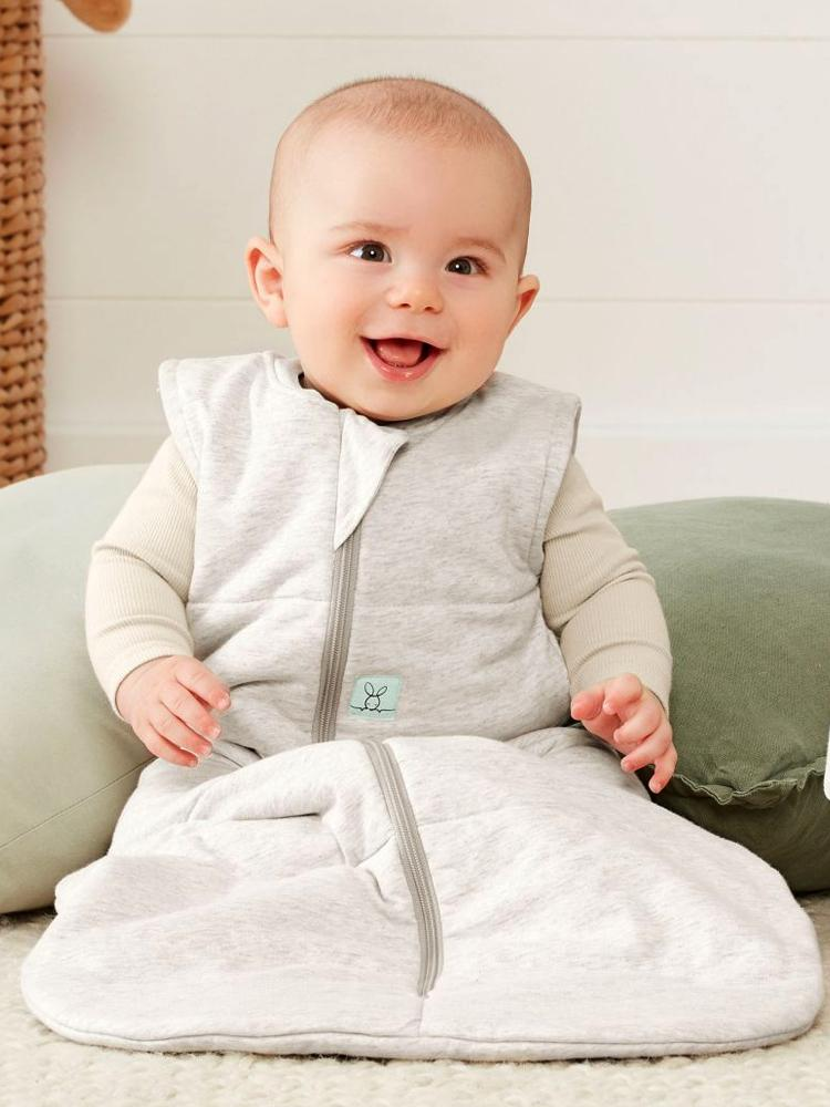 ergoPouch - Grey Marle - TOG 2.5 Jersey Sleeping Bag - Organic 8 to 24 Months - Stylemykid.com
