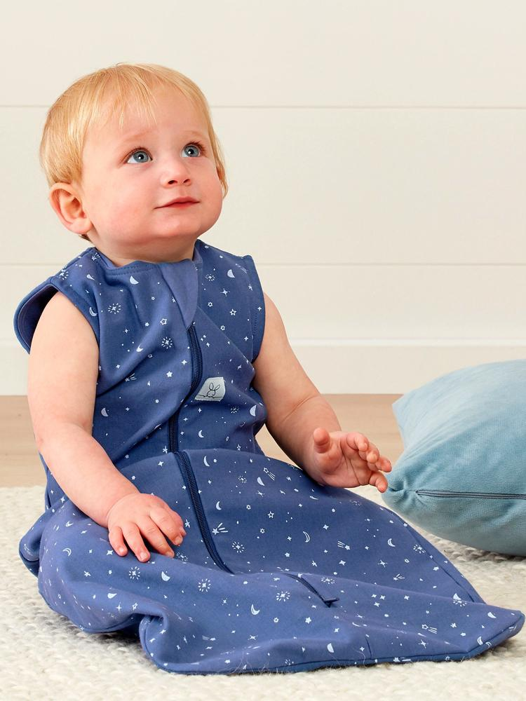 ergoPouch - Night Sky - TOG 1 Jersey Sleeping Bag - Organic 3 to 24 Months - Stylemykid.com