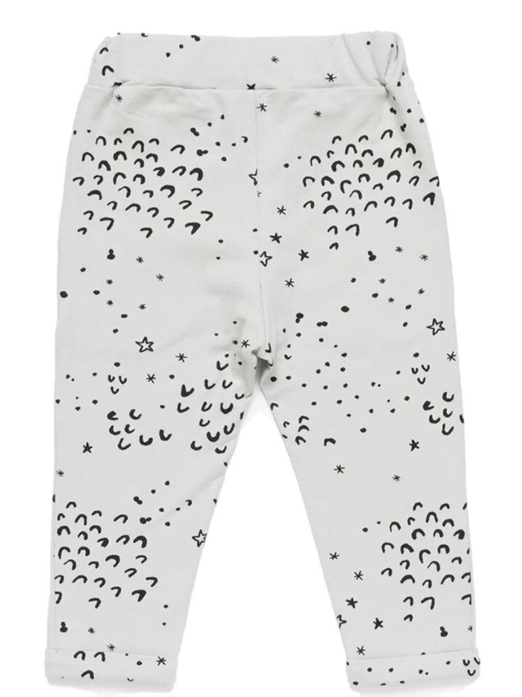 Artie - Grey Dots  French Terry Joggers - Stylemykid.com