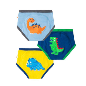 Zoocchini - 100% Organic Cotton Boys Potty Training Pants (3 pack) - Jurassic Pals - Stylemykid.com