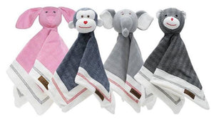 Juddlies - Lovey Baby Comfort Blanket - Organic Driftwood Grey Elephant  - Cottage Collection - Stylemykid.com