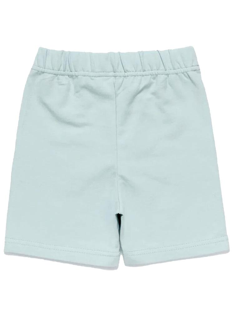 Artie - Pale Blue French Terry Baby and Little Kids Shorts - Stylemykid.com