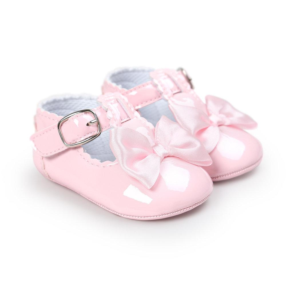 Sweet Mary Jane - Pink Baby Shoes - Stylemykid.com