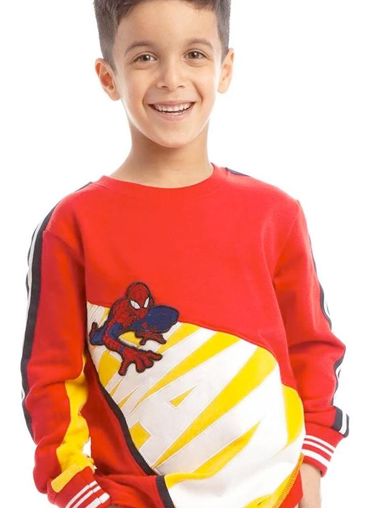 Spider-Man Crawl Sweatshirt - 3 - 7 Years - Stylemykid.com