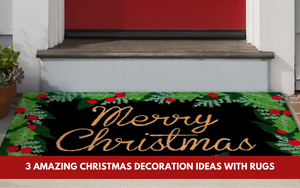 3 Amazing Christmas Decoration Ideas With Rugs