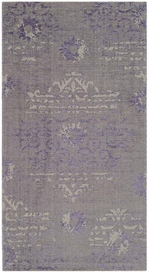 Palazzo PAL129 PURPLE / LIGHT GREY