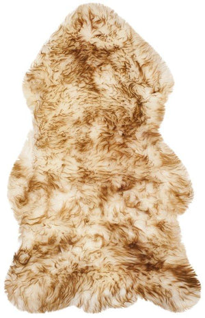 Sheep Skin SHS121D OFF WHITE / COCO BROWN