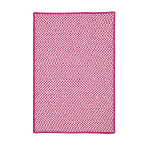 Outdoor Houndstooth Tweed Magenta OT78
