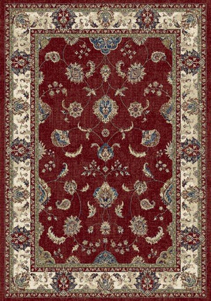 Ancient Garden 57158 Red/Ivory