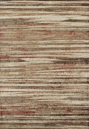 BLAIR ABSTRACT STRIPED SPICE/BEIGE