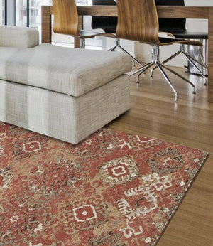 BLAIR DISTRESSED IKAT SPICE/TAUPE