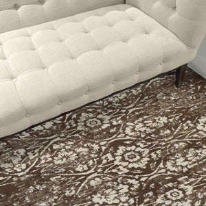 BLAIR VINTAGE DAMASK BROWN/TAUPE