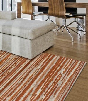 FREEPORT ABSTRACT STRIPE SPICE/TAUPE