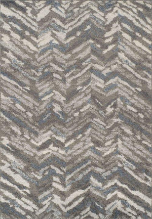 RESTON MODERN CHEVRON GRAY/MULTI