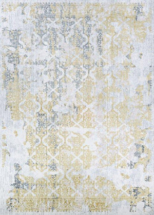 CALINDA GRAND DAMASK GOLD/SILVER/IVRY